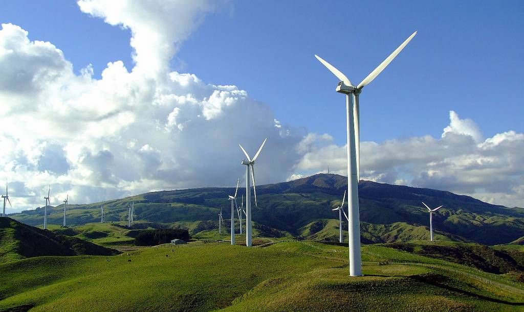 OPPORTUNITY: Te Apiti Wind Farm, which has become a popular tourist attraction in New Zealand.