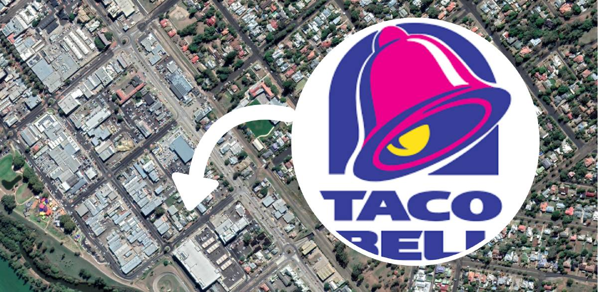 GRACIAS AMIGO: If approved, the Taco Bell will be located on Roderick St, near a number of other fast food venues.