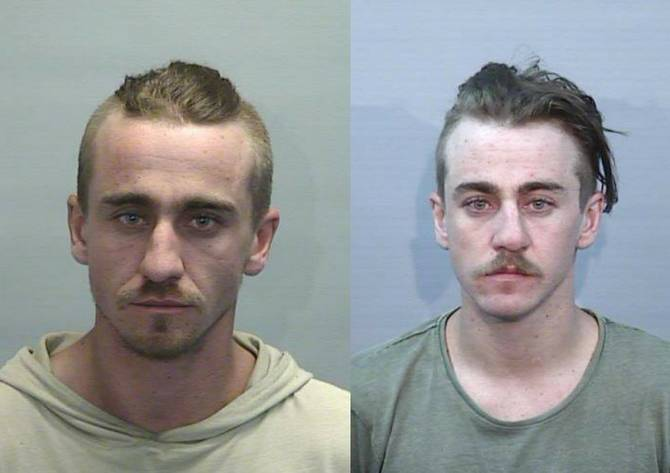 Guilty: Liam and Rhys Hoynes were extradited from Queensland back to NSW in 2019. Photo: NSW Police