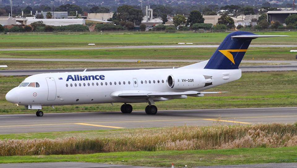 En route: The New Zealand Warriors are flying to Tamworth on board an Alliance Airlines charter plane. Photo: File?Kevin Anderson MP