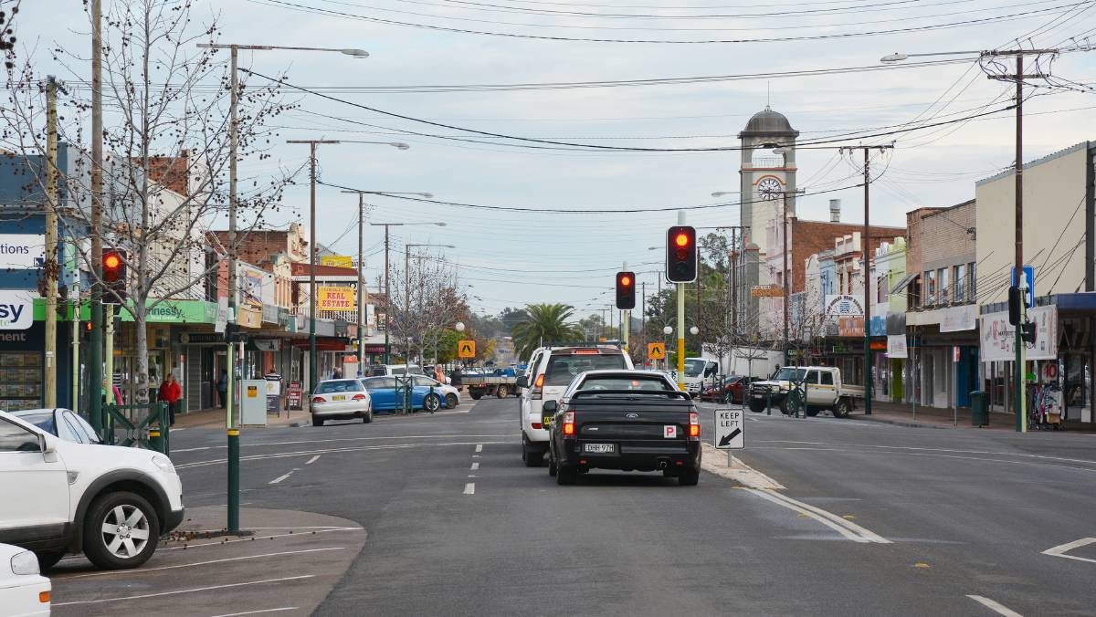 Condailly Street, Gunnedah. Photo: File
