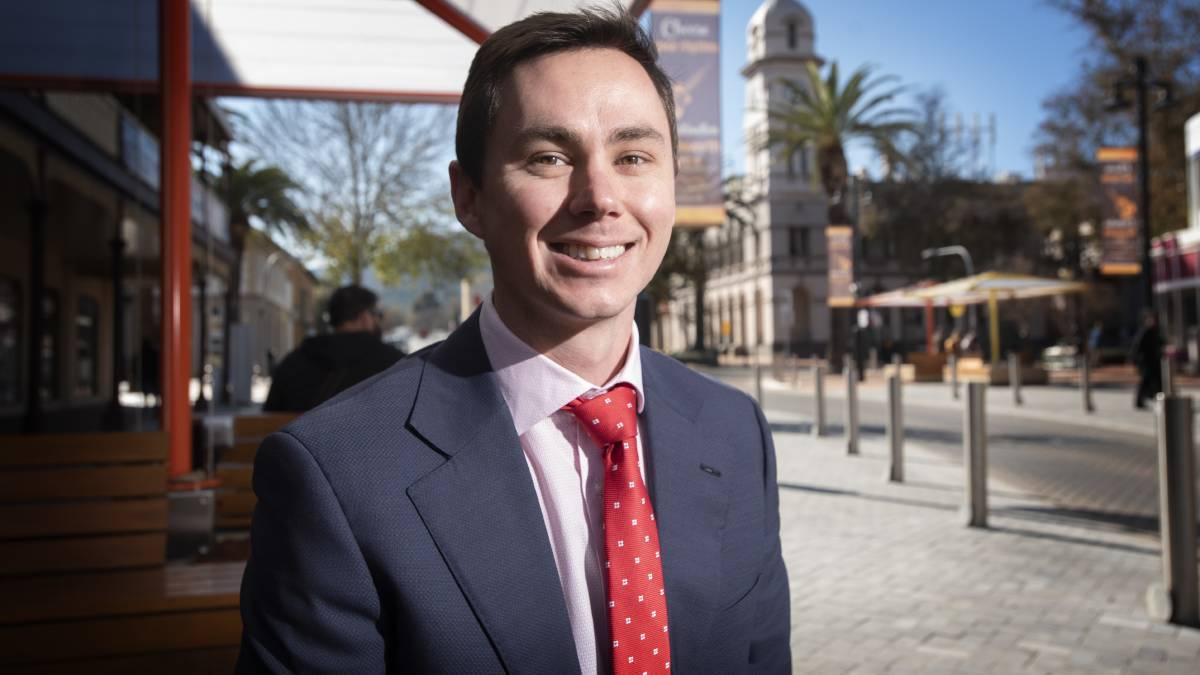 SURPRISE: Business NSW regional manager Joe Townsend said business confidence in Tamworth was stronger in November than it was at the same time in 2019. Photo: Peter Hardin