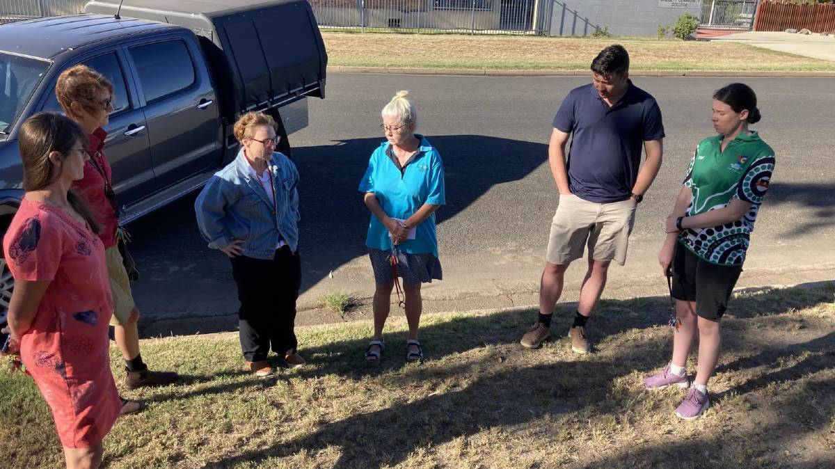 WALK OFF: Teachers in Walgett protested a lack of staff last week, walking off the job to tell the Education Department 'enough was enough'. Photo: Walgett Teachers Association