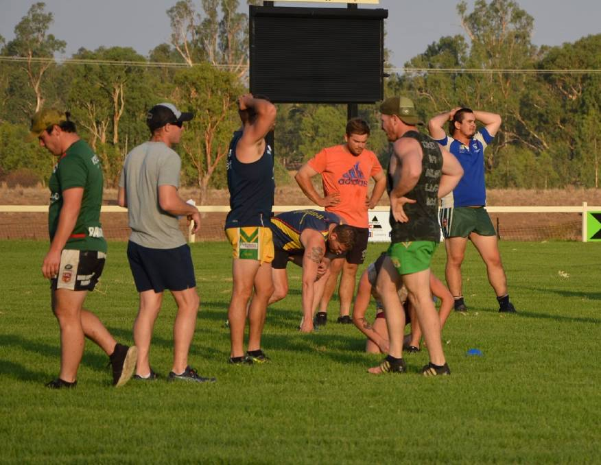 DIGGING DEEP: The Boggabri Roos have begun their preparations for the 2020 Group 4 season. Photo: Supplied