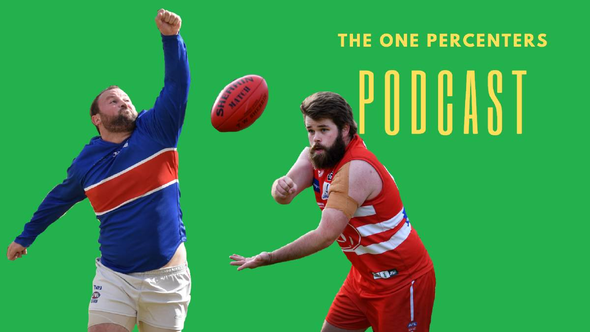 The One Percenters Podcast: The round one matches are in the bag