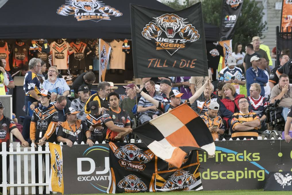 SECOND HOME: The Tigers have previously played in Tamworth in 2018 and 2019.