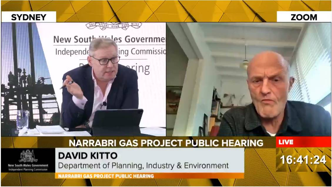 Gas giant: DPIE Executive Director David Kitto conceded Australia produces enough gas to meet its energy needs in the last day of hearings on the Narrabri Gas Project on Saturday.