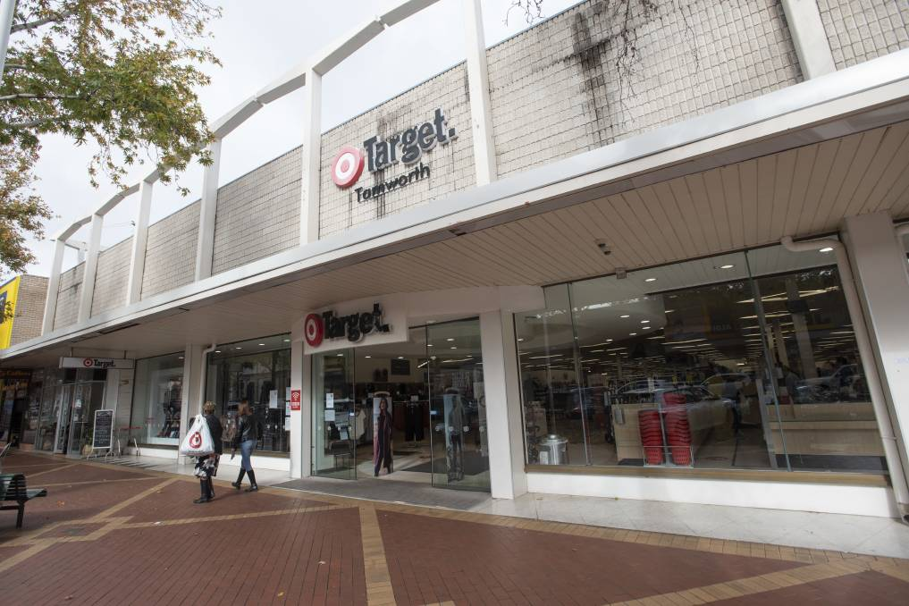 Safe: Tamworth's Target won't be among the stores cut or converted to Kmarts, according to the company. Photo: Peter Hardin