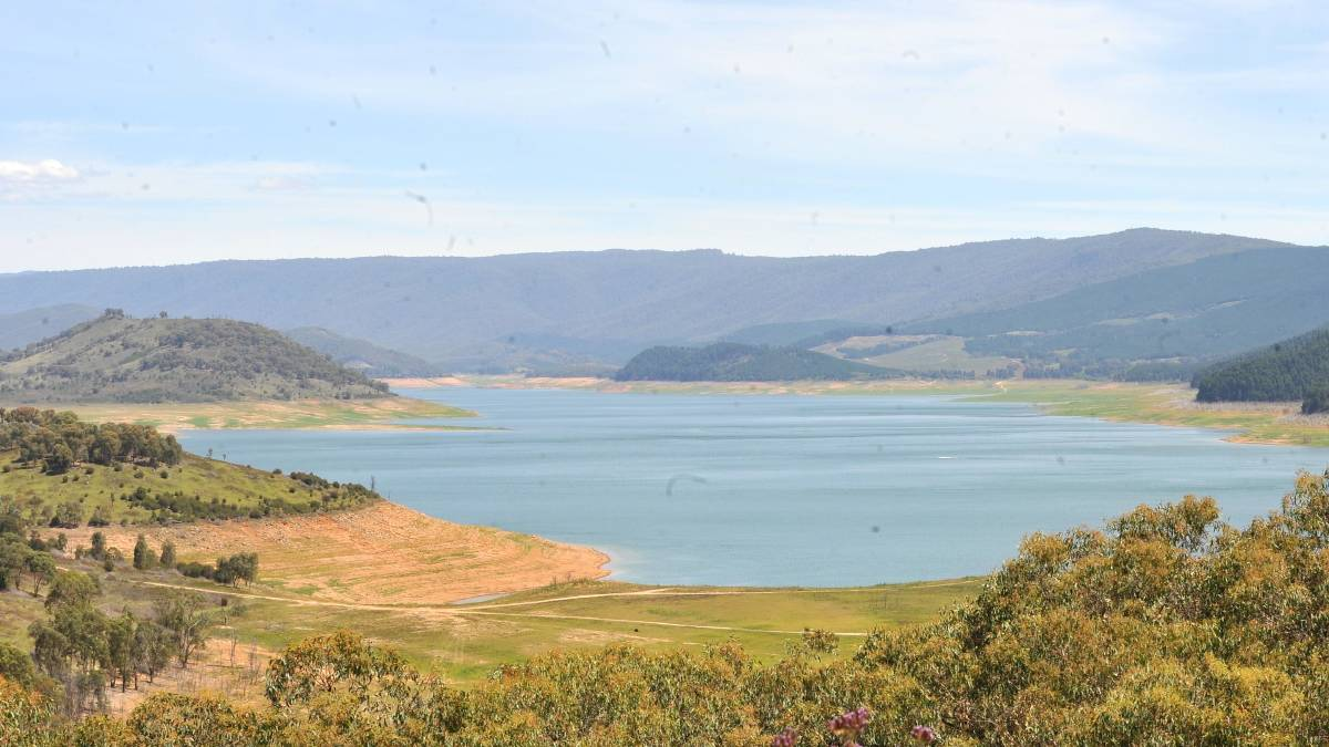 DAM PLAN: Paul Funnell argues existing dams, such as Blowering Dam, are reaching their lifespans and there have been no plans to replace them.