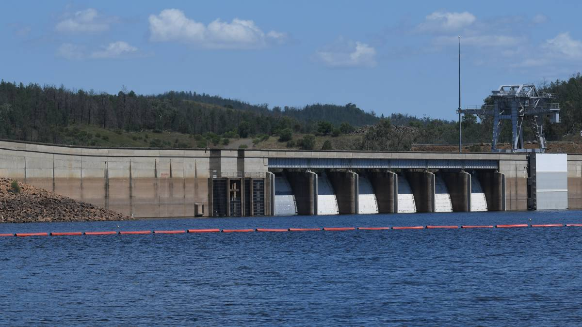 DONE: The Keepit Dam wall upgrade is finally finished. Photo: Gareth Gardner