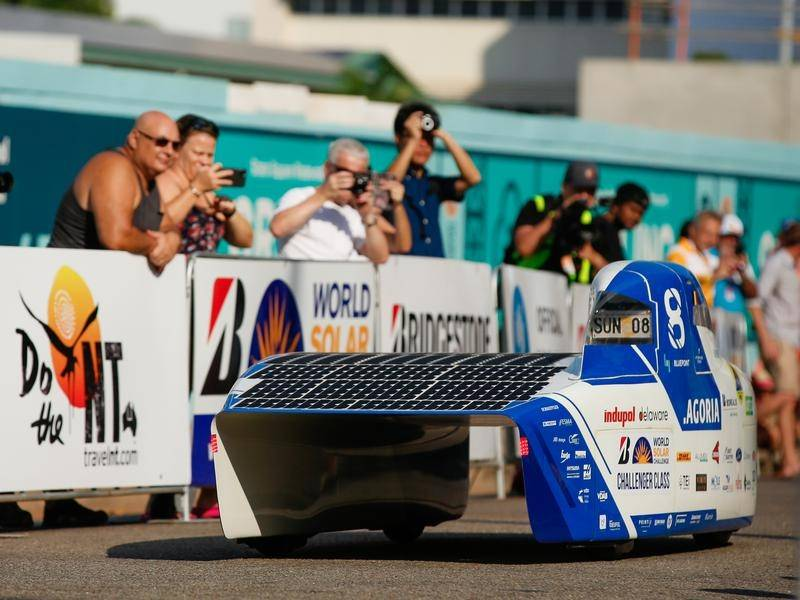 Dutch Maintain Lead In Solar Car Challenge The Northern Daily Leader Tamworth Nsw