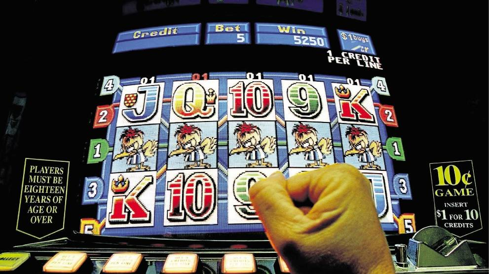 A majority of gambling losses are on the pokies.