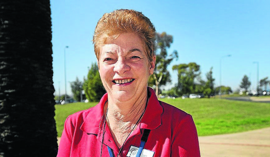 SUPPORTER: NSW CWA Woolomin branch president Bev Dawson. Photo: Gareth Gardner 060515GGA01
